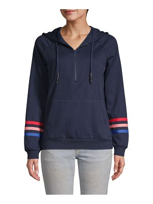 Marc New York Performance Raglan-Sleeve Half-Zip Hoodie