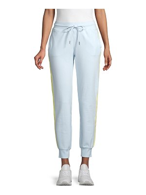 Marc New York Performance Side-Stripe Stretch Cotton Joggers