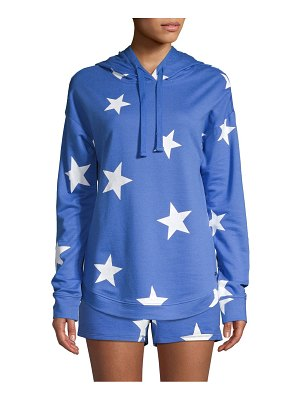 Marc New York Performance Star-Print Cotton-Blend Hoodie