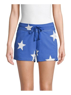 Marc New York Performance Star-Print French Terry Shorts