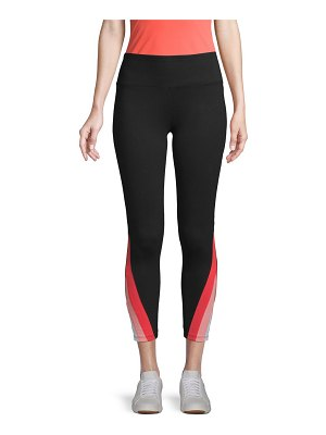 Marc New York Performance Stretch-Cotton Cropped Leggings