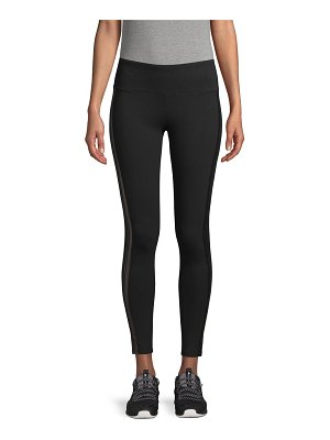 Marc New York Performance Striped Ankle-Length Leggings