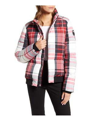MARC NEW YORK plaid puffer jacket