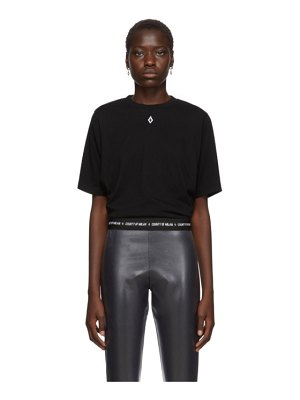 Marcelo Burlon County Of Milan black and white love wings t-shirt