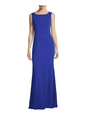 Notte by Marchesa Sheer-Back Embroidered Gown