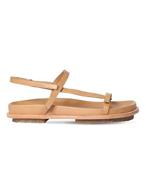MARI GIUDICELLI 15mm leather flat sandals