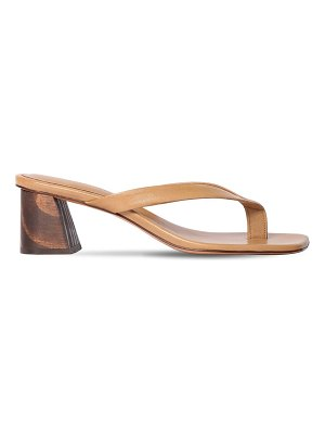 MARI GIUDICELLI 60mm leather sandals