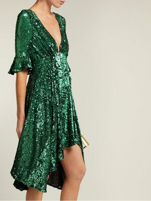 Maria Lucia Hohan arielle sequinned tulle dress