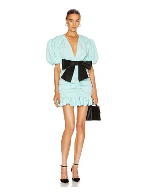Marianna Senchina eye candy mini dress