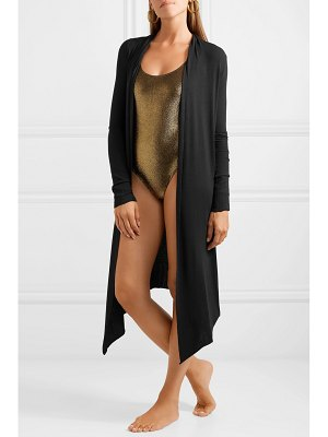 Marie France Van Damme michi ribbed stretch-knit cardigan