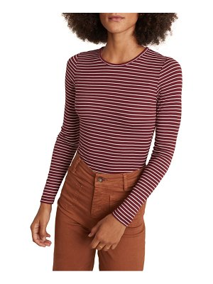 Marine Layer lexi stripe ribbed t-shirt