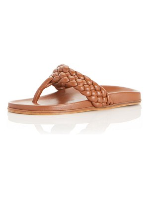 Marion Parke Carly Braided Napa Thong Sandals