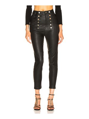 Marissa Webb Alma Stretch Leather Pant