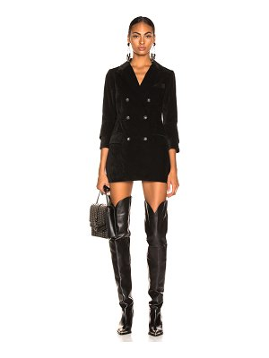 Marissa Webb Wilder Cord Mini Blazer Dress