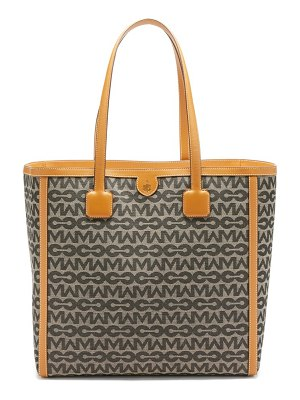 Mark Cross antibes mc-jacquard and leather tote bag