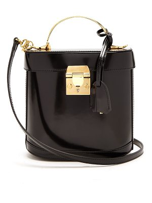 Mark Cross Benchley Leather Shoulder Bag