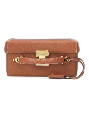 Mark Cross Grace Large Box leather shoulder bag