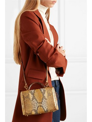 4a3ee506807a Burberry Helmsley Small Python   Leather Crossbody Bag