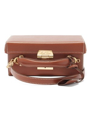 Mark Cross grace small saffiano-leather box bag