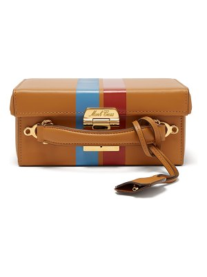 Mark Cross Grace small smooth-leather box bag