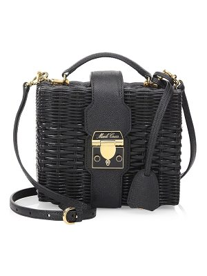 Mark Cross harley rattan crossbody bag