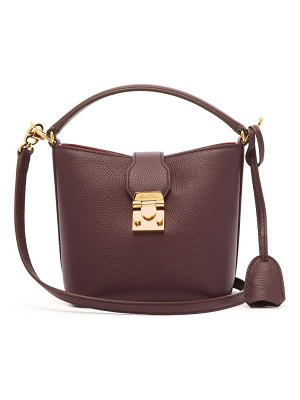 Mark Cross murphy mini leather bucket bag