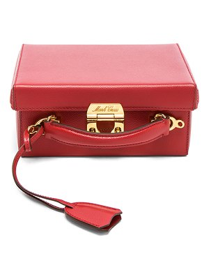 Mark Cross Small Caviar Grace Box Bag