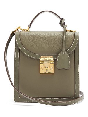 Mark Cross uptown saffiano-leather cross-body bag