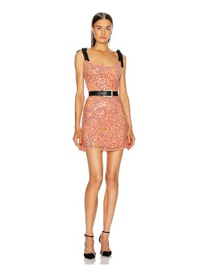 Markarian for fwrd mars iridescent sequin mini dress