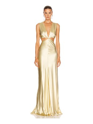 Markarian monaca cut out gown