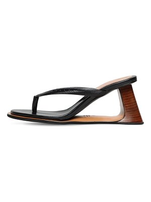 Marni 80mm rubber thong sandals