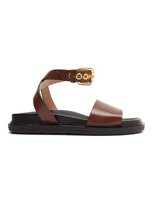 Marni ankle-strap leather sandals