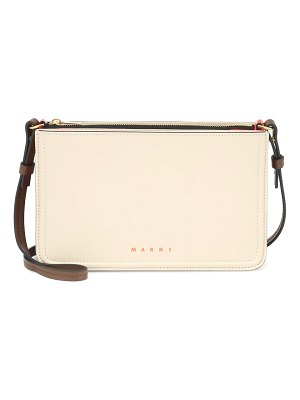Marni beat leather shoulder