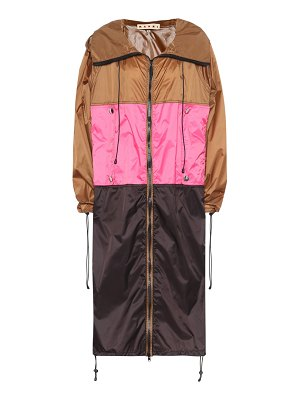 Marni Colorblocked raincoat
