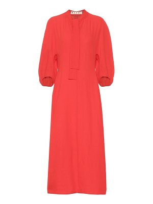Marni Crêpe midi dress