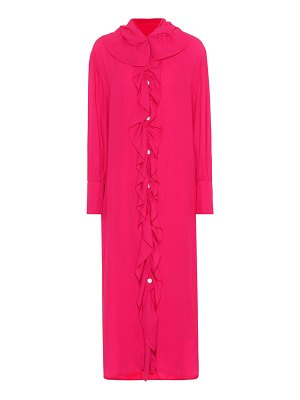 Marni Crêpe midi shirt dress