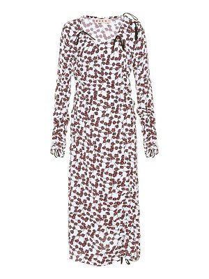 Marni Floral-printed midi dress