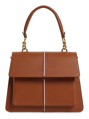 Marni Medium attaché leather top handle bag