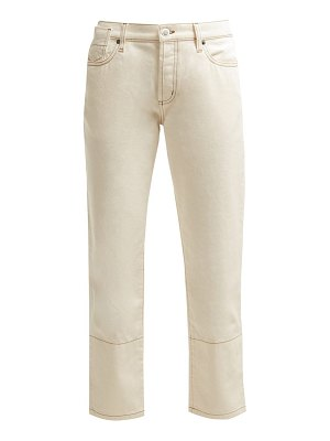 Marni Mid Rise Cropped Jeans
