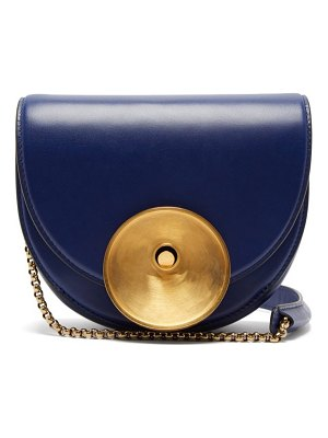 Marni Monile Half Moon Leather Cross Body Bag