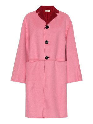 Marni Reversible wool and cashmere coat