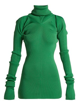 Marni Ribbed-knit roll-neck sweater
