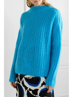 Marni ribbed mohair-blend sweater