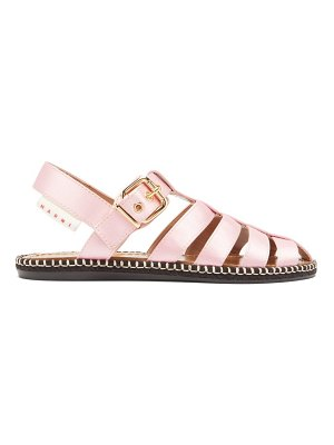 Marni satin fisherman sandals