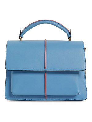 Marni Small attaché leather top handle bag