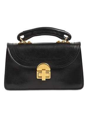 Marni Small juliette leather top handle bag