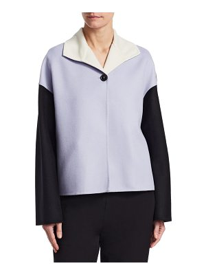 Marni two-tone cashmere coat
