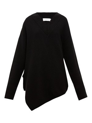 Marques Almeida asymmetric merino-wool sweater