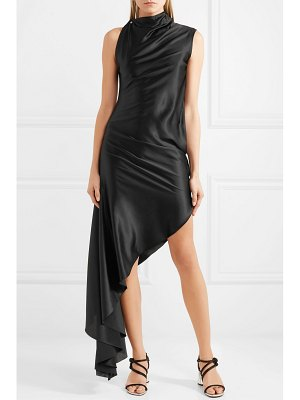 Marques' Almeida asymmetric silk-satin dress