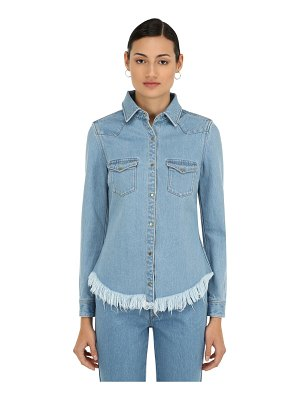 Marques Almeida Fitted cowboy cotton denim shirt